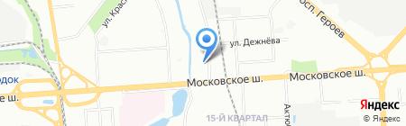 Средняя общеобразовательная школа №74 на карте Нижнего Новгорода