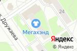 Схема проезда до компании Farmani в Нижнем Новгороде