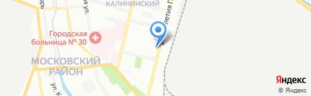 Жигули на карте Нижнего Новгорода