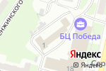 Схема проезда до компании Нижегородский центр крепежа в Нижнем Новгороде