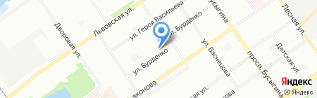 Канцлер на карте Нижнего Новгорода