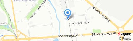 Текстура на карте Нижнего Новгорода