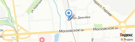 Zvon-NN на карте Нижнего Новгорода