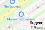 Схема проезда до компании Золотая Фея в Нижнем Новгороде