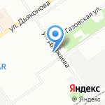 Церковь евангельских христиан-баптистов на карте Нижнего Новгорода