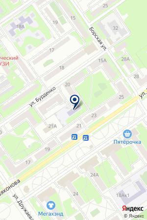 МДОУ ДЕТСКИЙ САД № 63 на карте Нижнего Новгорода