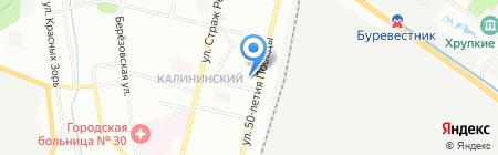 Агра на карте Нижнего Новгорода