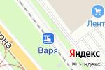 Схема проезда до компании Варя в Нижнем Новгороде