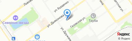 АНТИВИРУС на карте Нижнего Новгорода