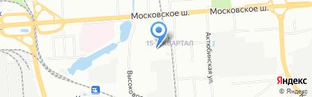 Детский сад №113 на карте Нижнего Новгорода
