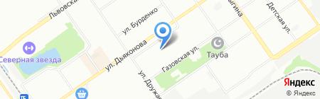 Доскинец на карте Нижнего Новгорода