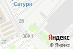 Схема проезда до компании АБВ-Авто в Нижнем Новгороде