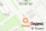 Схема проезда до компании Продуктовый магазин на ул. Дружаева в Нижнем Новгороде