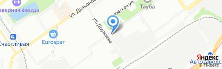 Анаис на карте Нижнего Новгорода