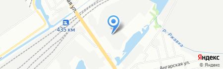 Универсал на карте Нижнего Новгорода