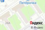 Схема проезда до компании IT-эксперт в Нижнем Новгороде