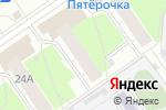 Схема проезда до компании Снабженя в Нижнем Новгороде
