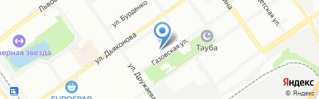 Средняя общеобразовательная школа №63 с углубленным изучением отдельных предметов на карте Нижнего Новгорода
