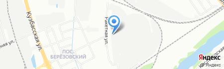 Русские подшипники на карте Нижнего Новгорода