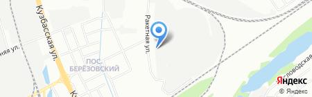Аделанта НН на карте Нижнего Новгорода