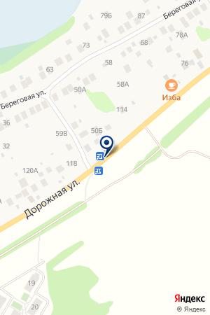 СМОЛЬКОСКИЙ СЕЛЬСКИЙ КЛУБ на карте Нижнего Новгорода