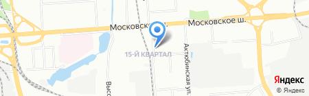 Тайм-НН на карте Нижнего Новгорода