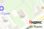 Схема проезда до компании Феруза в Нижнем Новгороде