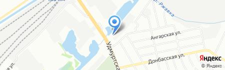 Запчасть-НН на карте Нижнего Новгорода
