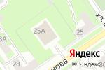 Схема проезда до компании ТВИКС в Нижнем Новгороде