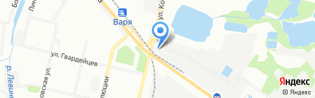 Госмонтаж на карте Нижнего Новгорода