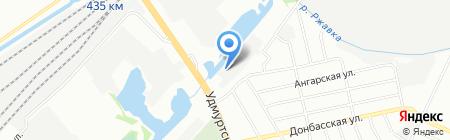 Светлояр-НН на карте Нижнего Новгорода