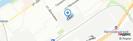 КТМ на карте Нижнего Новгорода