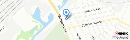 У Тахира на карте Нижнего Новгорода