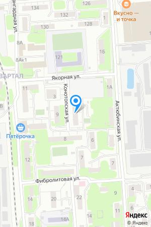 Дом 4 по ул. Конотопская на Яндекс.Картах