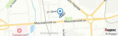 AutoLux-NN на карте Нижнего Новгорода