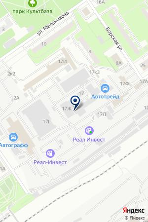 ТФ АВТОМАЗСЕРВИС на карте Нижнего Новгорода