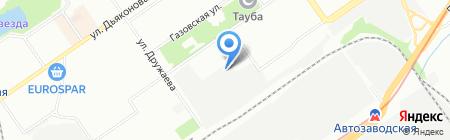 Береста Экодом на карте Нижнего Новгорода