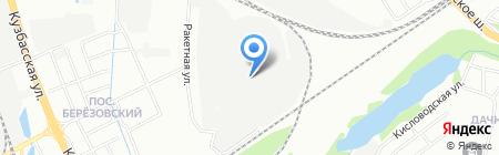 Афина-НН на карте Нижнего Новгорода