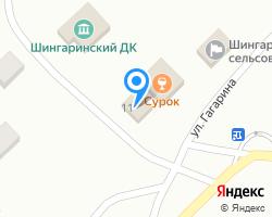 Схема местоположения почтового отделения 431308