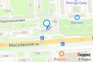 Однокомнатная квартира в Нижнем Новгороде Московское ш., 171