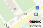 Схема проезда до компании Олимп в Нижнем Новгороде