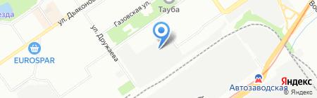 Батмаркет на карте Нижнего Новгорода