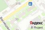 Схема проезда до компании Crazy шеф в Нижнем Новгороде