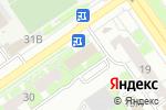 Схема проезда до компании Армада в Нижнем Новгороде