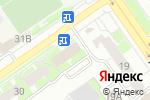 Схема проезда до компании Регион в Нижнем Новгороде