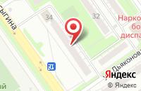 Схема проезда до компании Пантерра в Нижнем Новгороде