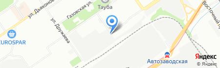 Автоперевозка-НН на карте Нижнего Новгорода