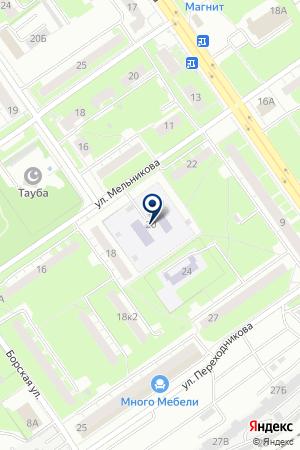 ДЕТСКИЙ САД № 29 на карте Нижнего Новгорода