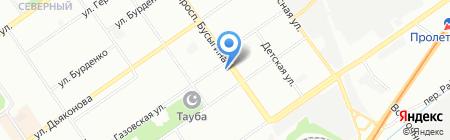Родник на карте Нижнего Новгорода
