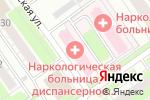 Схема проезда до компании Городской наркологический диспансер в Нижнем Новгороде
